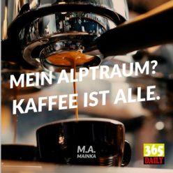 Kaffeemaschine und Headline