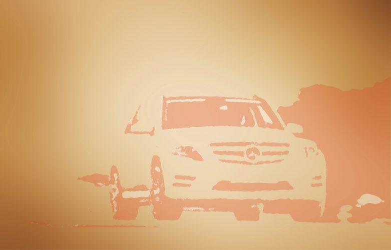 Grafik, welche für die Longcopy für GLK Mercedes Benz steht