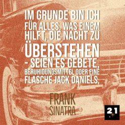 Social-Content, Generelles Social Media Post 21 Million Lights mit Zitat mit Zitat von Sinatra