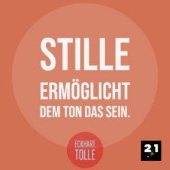 Generelles Social-Media Post 21 Million Lights mit Zitat, Social-Advertising